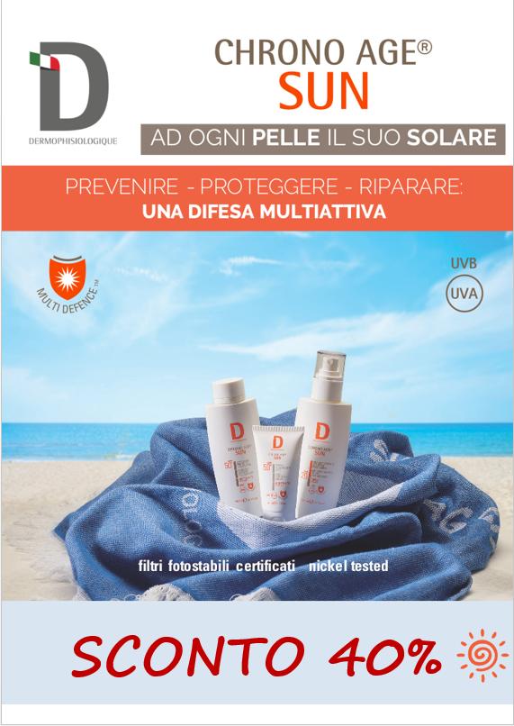 Offerta solari Dermophisiologique